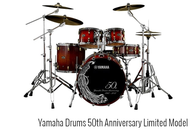 Yamaha Drums 50th Anniversary Limited Model