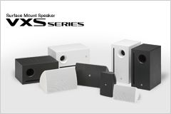 Surface Mount Speakers: VXS Series
